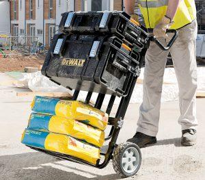 carrito de caja de herramientas de dewalt[